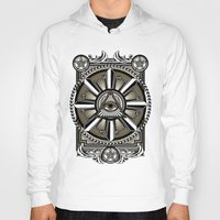 all seeing eye Hoodies featuring All Seeing Eye by Pancho the Macho