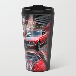 1969 Mustang Mach 1 CJ Travel Mug