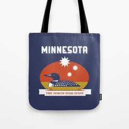 Minnesota - Redesigning The States Series Tote Bag