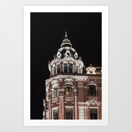 Light in the night Art Print