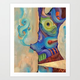 As I live and breathe Art Print