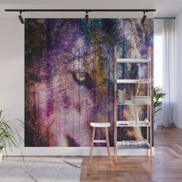 Wolf Forest : These Are My Forests Wall Mural