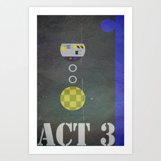 Act 3 Art Print