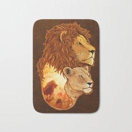 Lion Pride Bath Mat