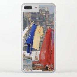 varanasi Clear iPhone Case
