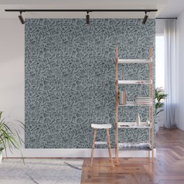 Pop Culture Pattern Wall Mural
