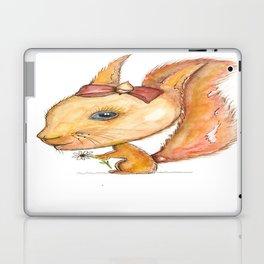 NORDIC ANIMAL - SUZY THE SQUIRREL / ORIGINAL DANISH DESIGN bykazandholly Laptop & iPad Skin