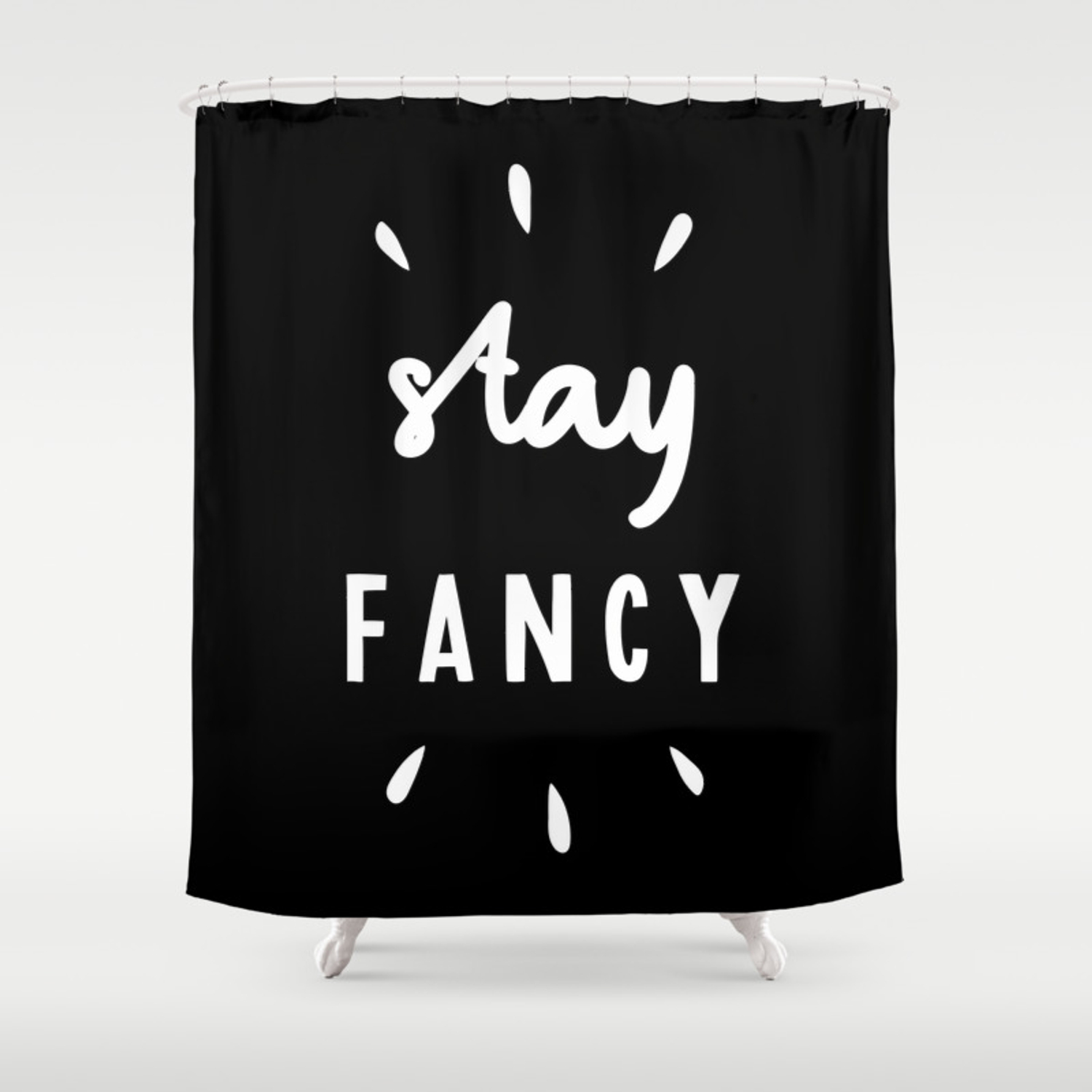 Fancy Typography Wall Art Home Decor
