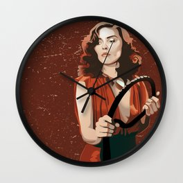 Long Live the New Flesh 2 Wall Clock