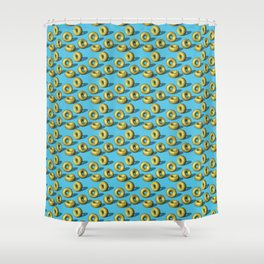 Yuzu Sprinkles Doughnuts Shower Curtain