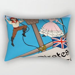 Pirates of Penzance Poster Rectangular Pillow