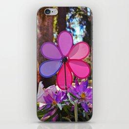 Whirligig colors iPhone Skin