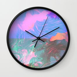 BURNING Wall Clock