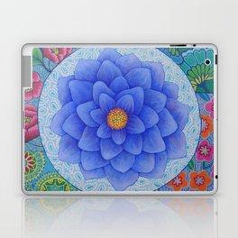 Violet Flower Mandala Laptop & iPad Skin