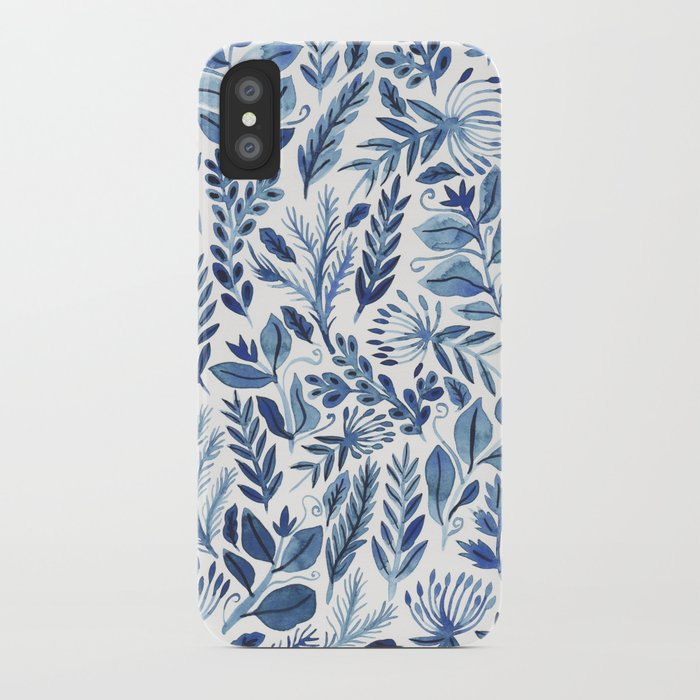 indigo scatter iPhone Case