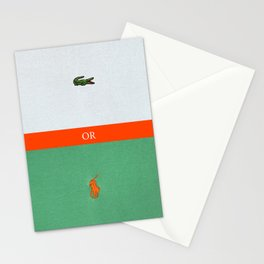 TENNIS or POLO Stationery Cards