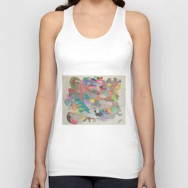 Lines and Colors Unisex Tank Top