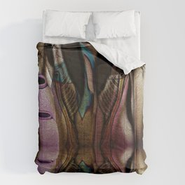 Abstract Jugs Comforters