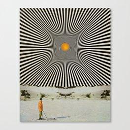 Solar butterfly Canvas Print
