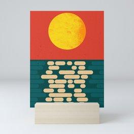 Sun Over The Sea - Afternoon Mini Art Print