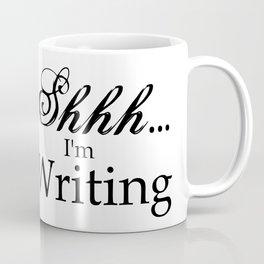 Shhh... I'm Writing Coffee Mug