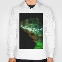 scales Hoodies featuring Digital Scales by DeScepter