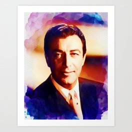 Robert Taylor, Hollywood Legend Art Print