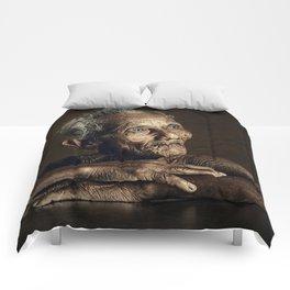Old man 07 Comforters