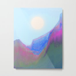 Bright Sun Metal Print