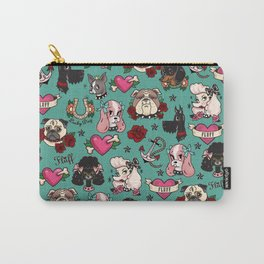 Tattoo Dogs Carry-All Pouch