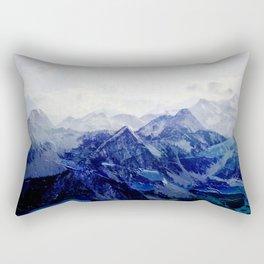 Blue Mountain 2 Rectangular Pillow