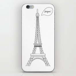 Bonjour Paris! iPhone Skin