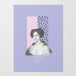 My Lady Canvas Print