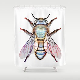 Bee Delicate Shower Curtain