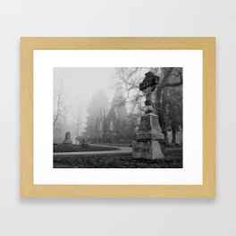 Crypt Of Lone Fir Framed Art Print