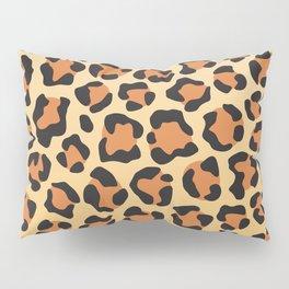 leopard skin background Pillow Sham
