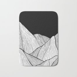 As The Mountains Rise Up Bath Mat