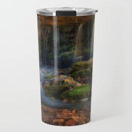 Sgwd Ddwli Uchaf waterfall Travel Mug