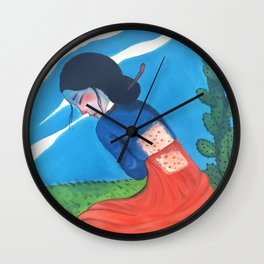 Cactus Skin Wall Clock