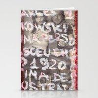 bukowski Stationery Cards featuring Bukowski by Ibbanez