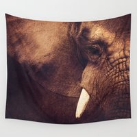 strong Wall Tapestries featuring Strong by DONIKA NIKOVA - Art & Design