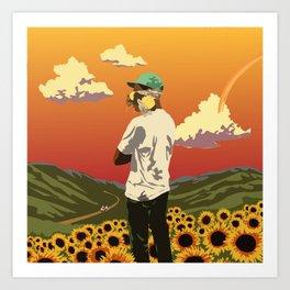 Tyler, The Creator - Flower Boy Art Print