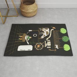 Now I Can Sit and Eat Cereal Forever Rug