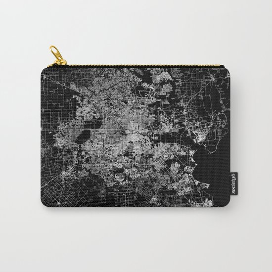 Houston map Carry-All Pouch