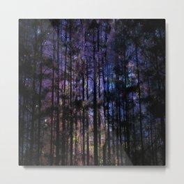 Twilight Woodlands Metal Print