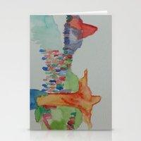 rio de janeiro Stationery Cards featuring Rio de Janeiro by Danielle Lima