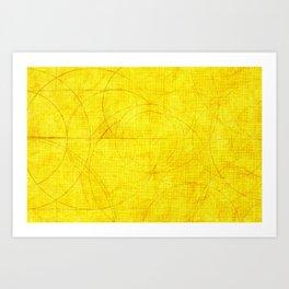 Aurea (Golden Version) Art Print