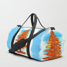 Fall Tree Duffle Bag