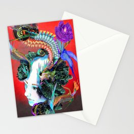 Moire Effect Stationery Cards