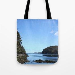 Alaskan Beach Photography Print Tote Bag